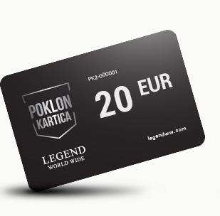 Poklon kartica 20 EUR!
