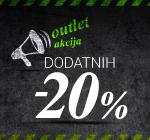 -20% na OUTLET!