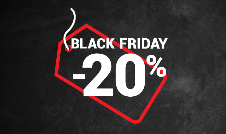 Black Friday -20%