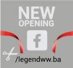 Facebook stranica LegendWW - BiH