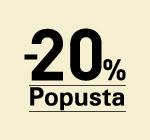 Poklanjamo -20% popusta