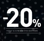 -20% popusta na kompletan WEB asortiman