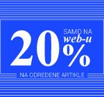 -20% samo na WEB-u!