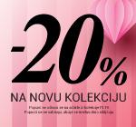 Srećan Dan žena...-20% na novu kolekciju