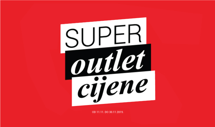 Super outlet cijene!