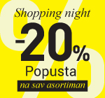 Shopping night Niš Kalča