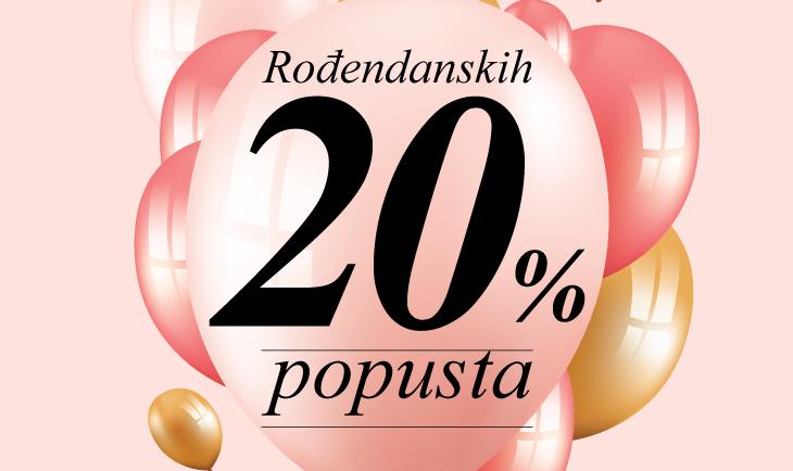 Vivo Jagodina slavi rođendan, Legend poklanja -20% popusta