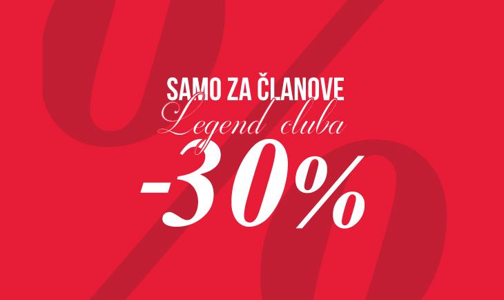 Samo za članove LC kluba -30%!