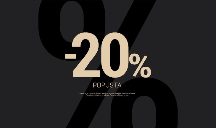 -20% povodom Big shopping dana