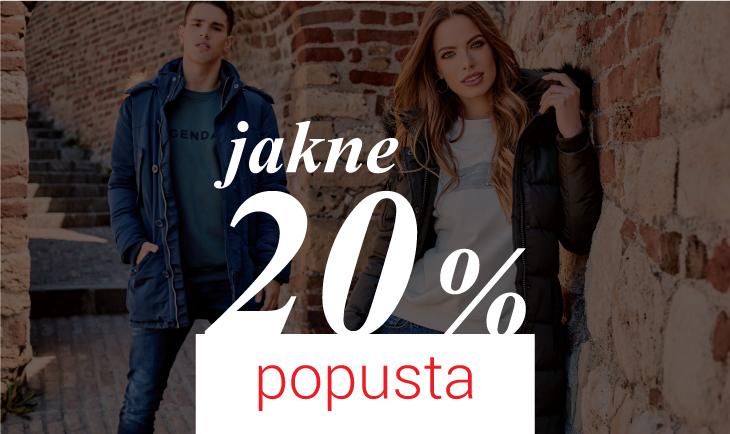 20% popusta na jakne