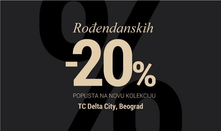 Rođendanski popust TC Delta city