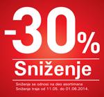 Sniženje -30%
