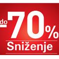 Sniženje! -70%