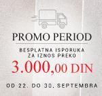Promo period- besplatna isporuka