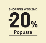 Shopping Weekend -20% Jagodina