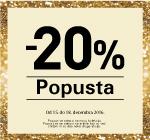 Akcija 20% popusta
