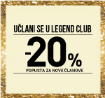 LEGEND CLUB AKCIJA