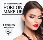 Legend & Golden Rose poklon make up