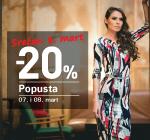 Dan žena! Dan za kupovinu -20%