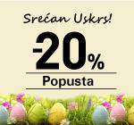Uskršnja Akcija! -20%