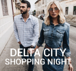 Delta city shopping night -20%