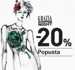 Grazia shopping night -20% popusta