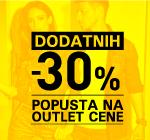 -30% na već snižene outlet artikle