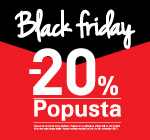 Black Friday -20% popusta