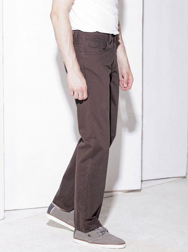 Braon muške pantalone