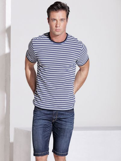 Plavo- bela majica