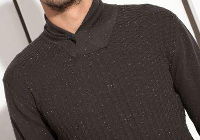 Muški džemper sa kragnom