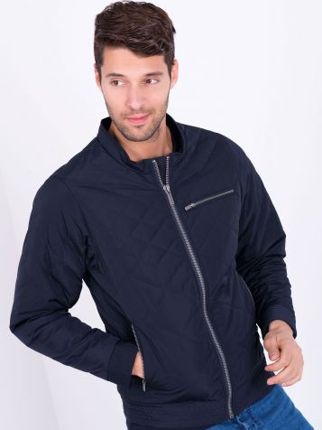 Muška jakna u teget boji
