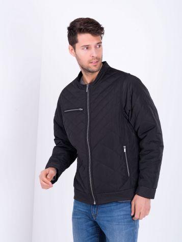 Muška jakna u crnoj boji