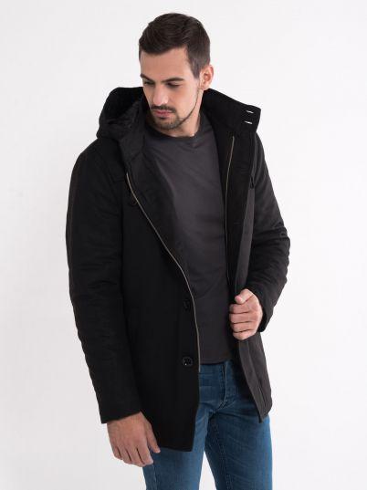 Zimski kaput sa kapuljačom