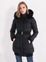 Ženska zimska jakna sa krznom