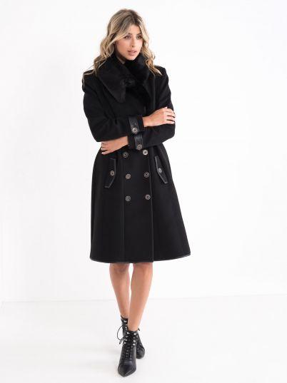 Ženski kaput sa krznom