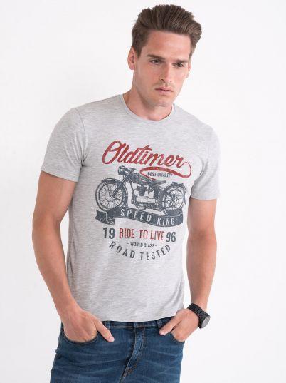 Majica sa printom Oldtimer