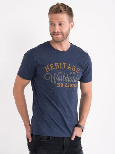 Majica sa natpisom Worldwide