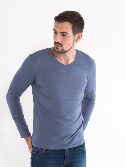 Basic majica V izreza