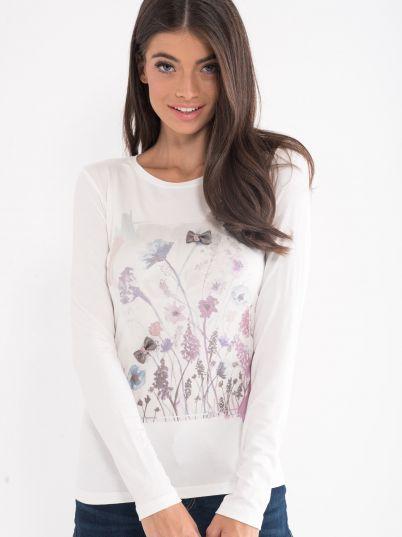 Majica sa cvijetnim printom