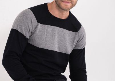 Džemper u dve boje