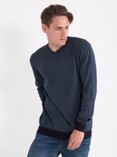 Džemper sa stinim prugicama