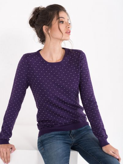 Ženski džemper sa tufnama