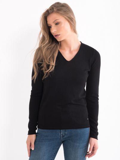 Džemper na V izrez