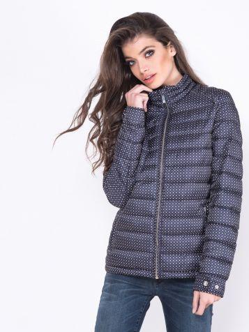 Šuškava dezenirana jakna