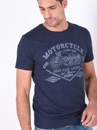 Majica sa printom motora