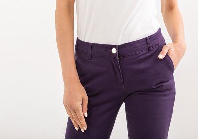Keper pantalone ljubičaste