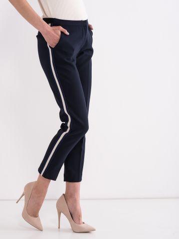 Poslovne hlače s trakom