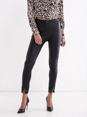 Crne trendi pantalone