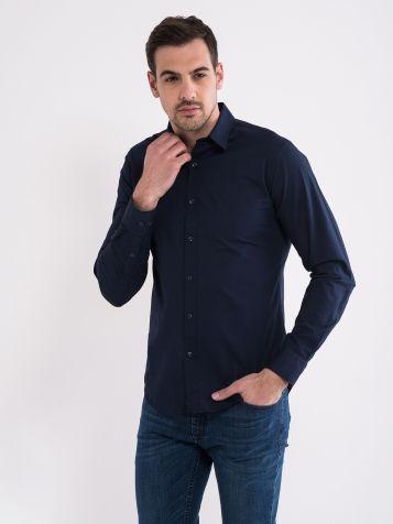 Basic majica temno modra